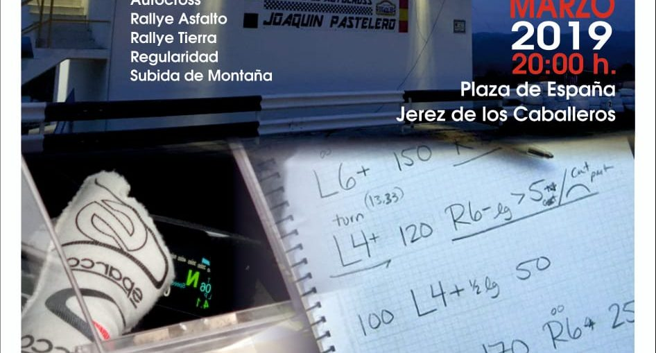 presentacion motor club jerez 2019